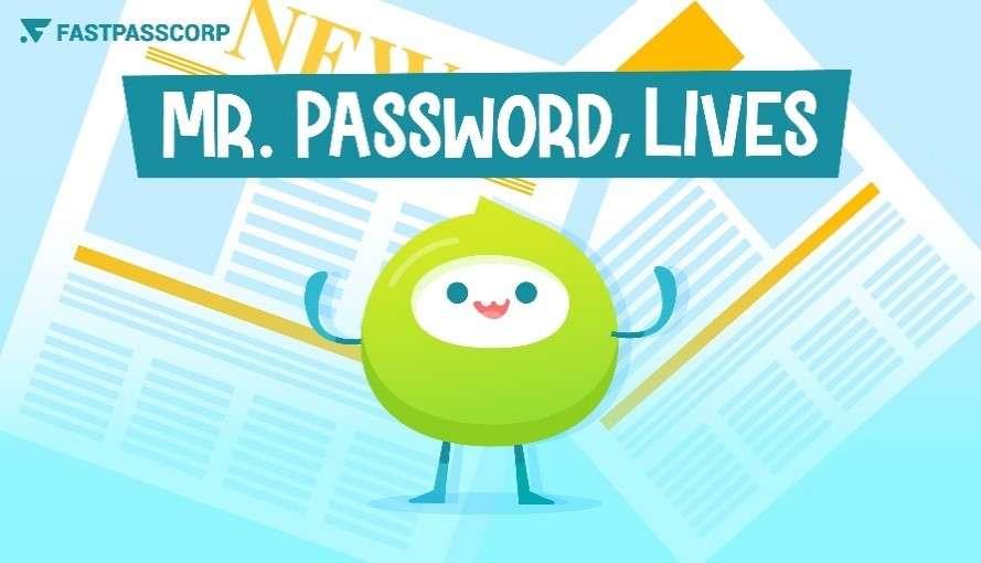 mr.password graphic