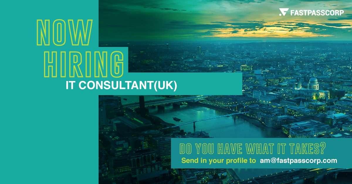 IT Consultant Job Ad